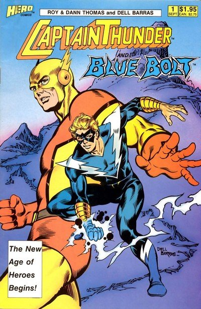 Captain Thunder and Blue Bolt #1 – 12 (1987-1999)