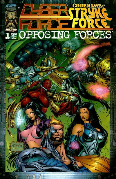 Cyber Force-Stryke Force – Opposing Forces #1 – 2 (1995)