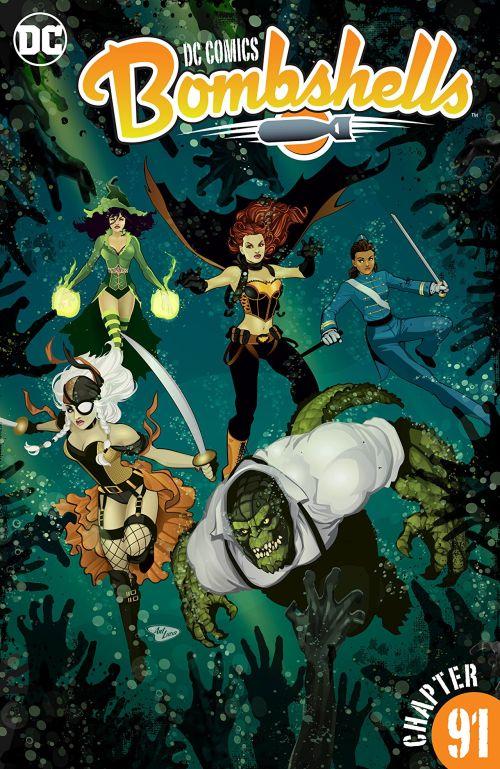 DC Comics – Bombshells #91 (2017)