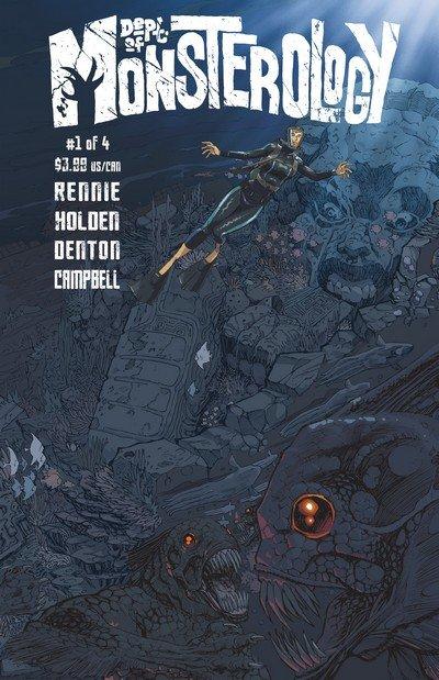 Dept of Monsterology #1 – 4 (2013-2014)