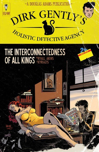 Dirk Gently's Holistic Detective Agency – The Interconnectedness of All Kings (2016)