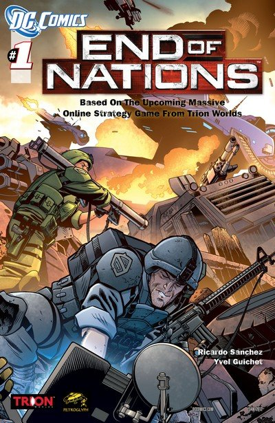 End of Nations #0 – 4 (2010-2012)