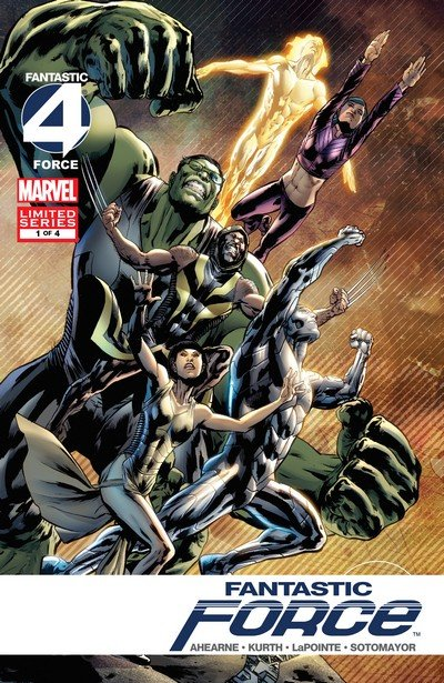 Fantastic Force #1 – 4 (2009)