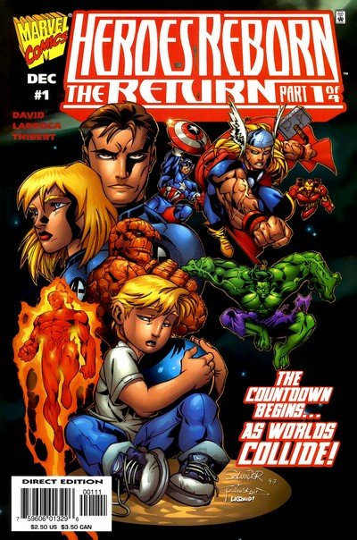 Heroes Reborn – The Return #1 – 4 (1997)