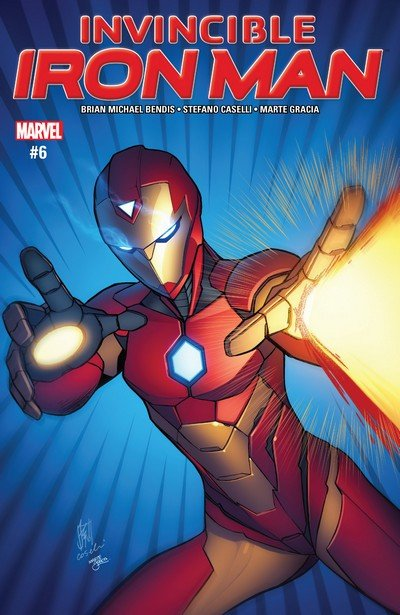 Invincible Iron Man #6 (2017)