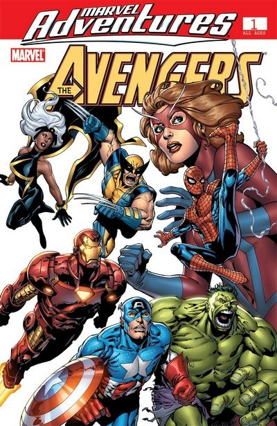 Marvel Adventures – Avengers #1 – 39 (2006-2009)