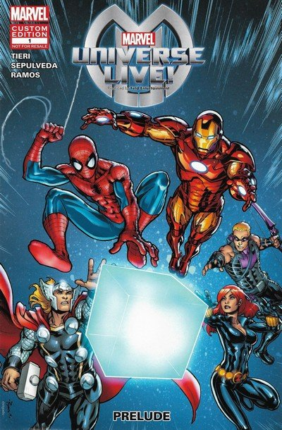 Marvel Universe Live! Prelude #1 (2014)