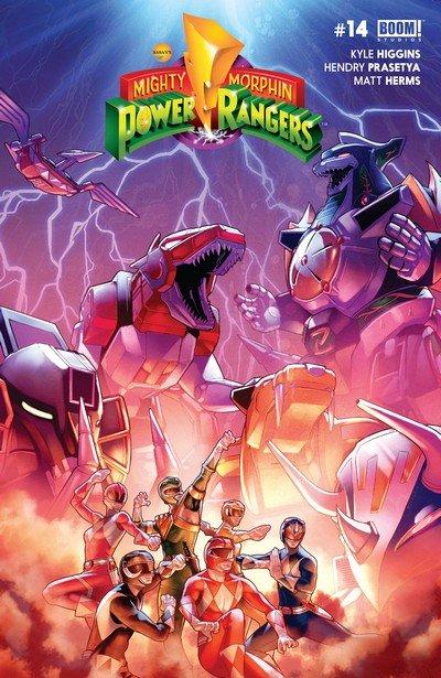 Mighty Morphin Power Rangers #14 (2017)