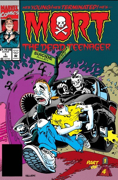 Mort the Dead Teenager #1 – 4 (1993-1994)