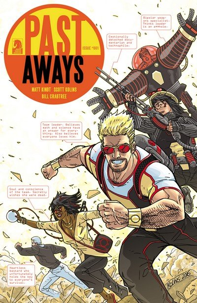 Past Aways #1 – 9 (2015-2016)