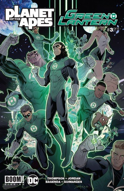 Planet of the Apes – Green Lantern #3 (2017)