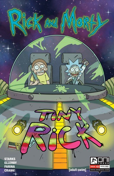 Rick and Morty #25 (2017)