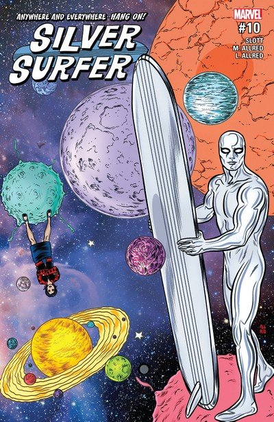 Silver Surfer #10 (2017)