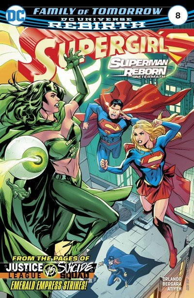 Supergirl #8 (2017)