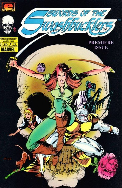 Swords of the Swashbucklers #1 – 12 (1985-1987)