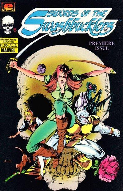 Swords of the Swashbucklers #1 – 12 (1985-1987)