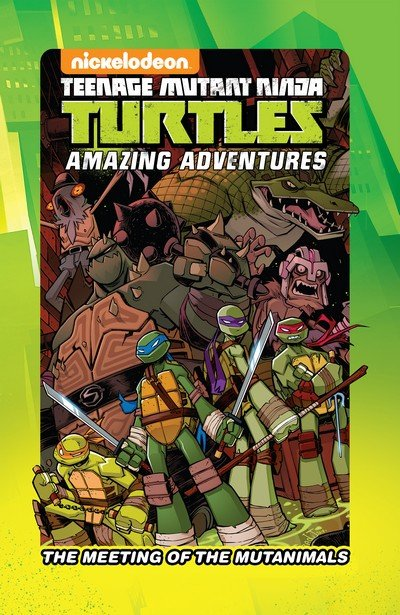Teenage Mutant Ninja Turtles – The Meeting of the Mutanimals (2016)