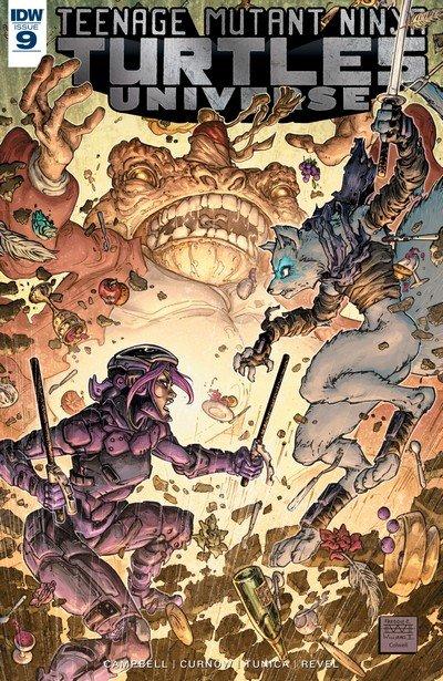 Teenage Mutant Ninja Turtles Universe #9 (2017)