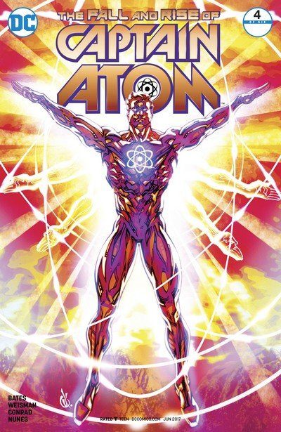 The Fall and Rise of Captain Atom #4 (2017)