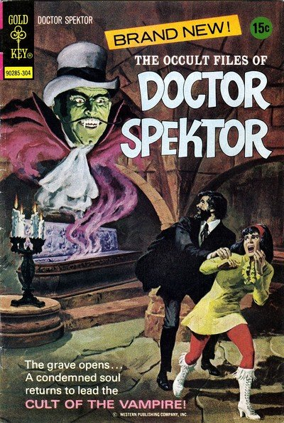 The Occult Files of Dr. Spektor #1 – 25 (1973-1982)