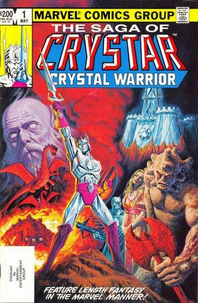 The Saga of Crystar – Crystal Warrior #1 – 11 (1983-1985)