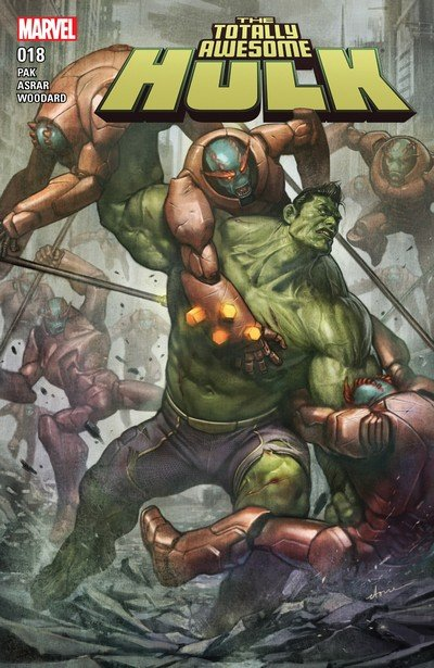 The Totally Awesome Hulk #18 (2017)