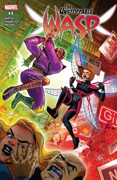 The Unstoppable Wasp #4 (2017)