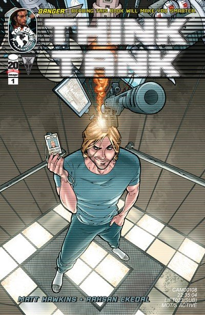 Think Tank Vol. 1 – 3 + Extras (Collection) (2012-2017)