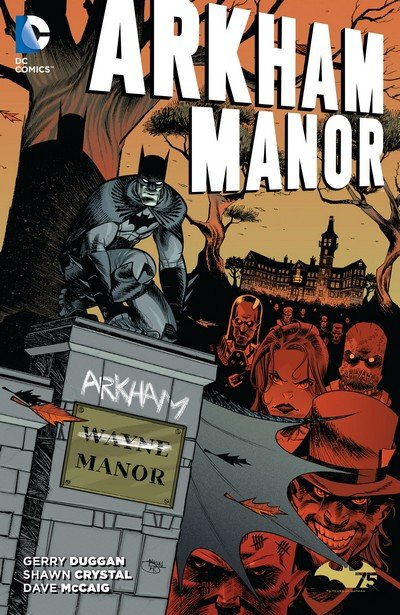Arkham Manor (TPB) (2015)