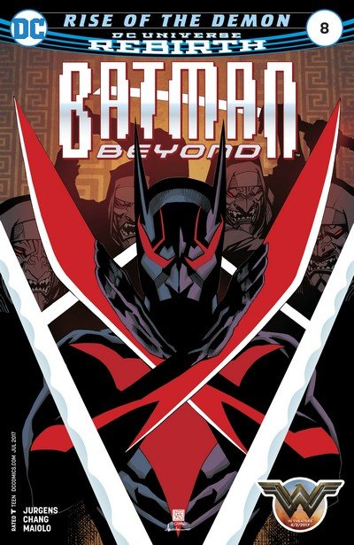 Batman Beyond #8 (2017)
