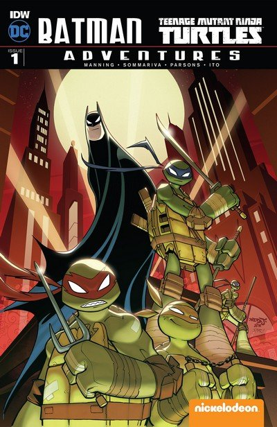 Batman – Teenage Mutant Ninja Turtles Adventures #1 – 6 (2016-2017)