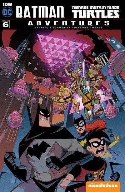 Batman – Teenage Mutant Ninja Turtles Adventures #6 (2017)