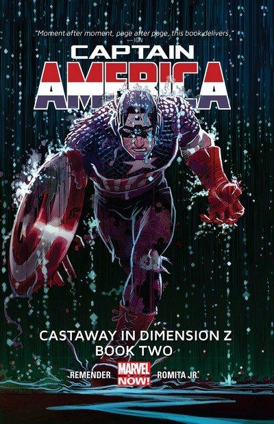 Captain America – Castaway in Dimension Z Book 1 – 2 (2013)