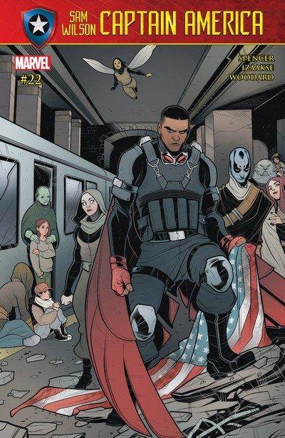 Captain America – Sam Wilson #22 (2017)