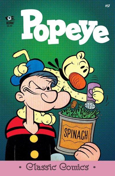 Classic Popeye #57 (2017)