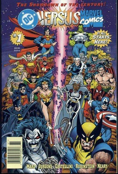 DC vs Marvel #1 – 4 (1996)