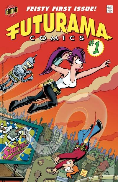 Futurama Comics #1 – 83 (2000-2017)