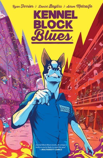 Kennel Block Blues (TPB) (2017)