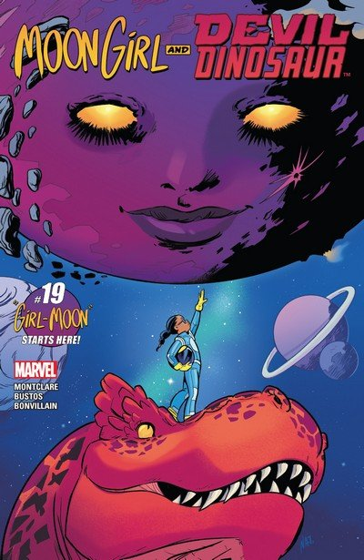 Moon Girl and Devil Dinosaur #19 (2017)