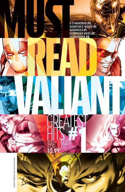 Must Read Valiant – Greatest Hits #1 – 2 (2014-2015)