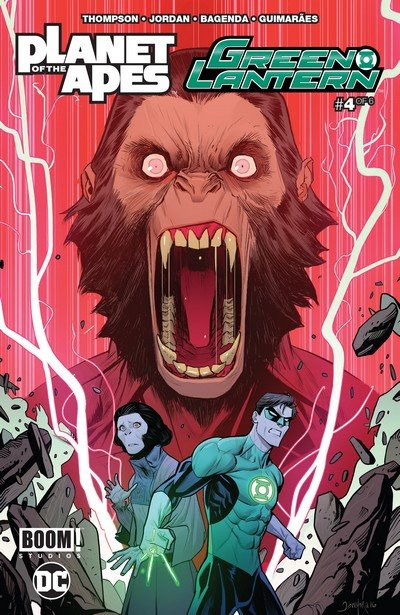 Planet of the Apes – Green Lantern #4 (2017)