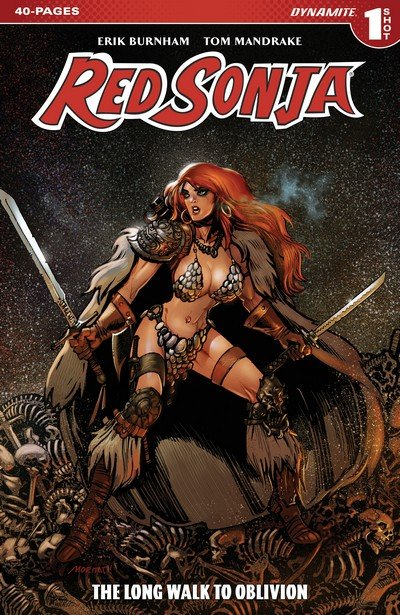 Red Sonja The Long Walk To Oblivion #1 (2017)