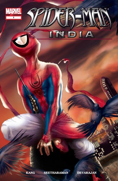 Spider-Man – India #1 – 4 (2004)