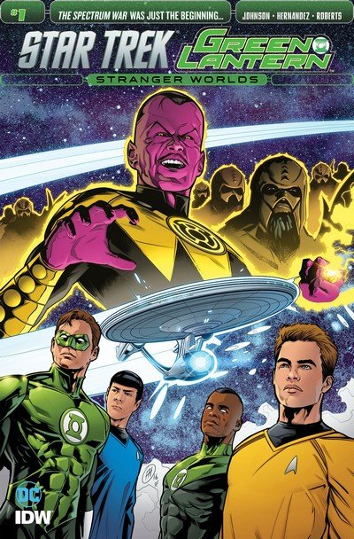 Star Trek – Green Lantern #1 – 6 (2016-2017)