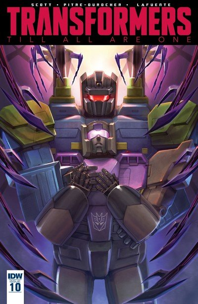 Transformers Till All Are One #10 (2017)