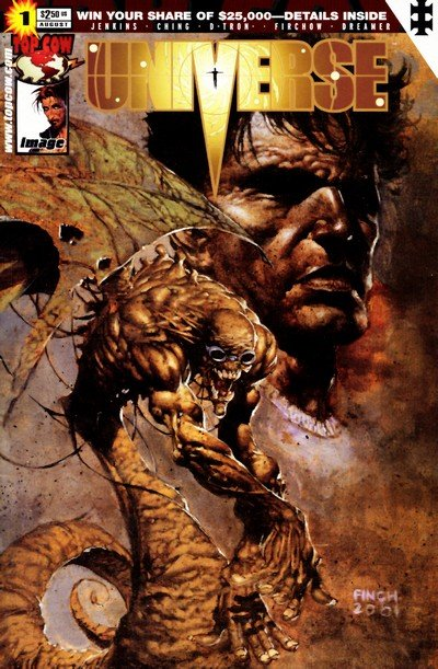 Universe #1 – 6 (Top Cow) (2001-2002)