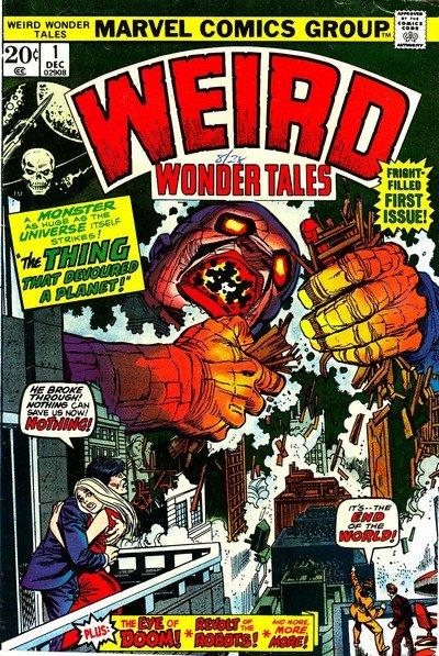 Weird Wonder Tales #1 – 22 (1973-1977)