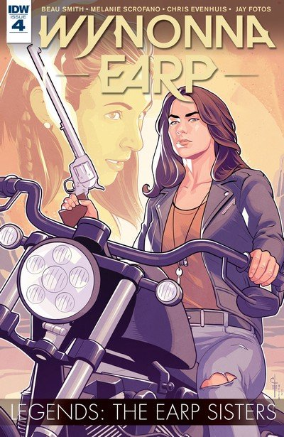 Wynonna Earp Legends #4 – The Earp Sisters (2017)