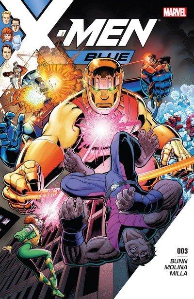X-Men Blue #3 (2017)
