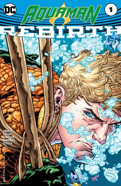 Aquaman – Rebirth #1 + #1 – 56 + Annuals (2016-2020)